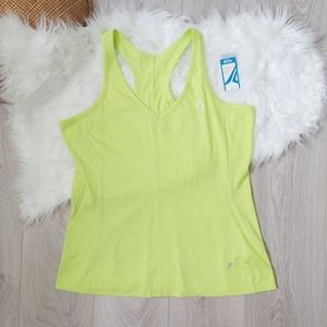 Active by Old Navy neon green tank top